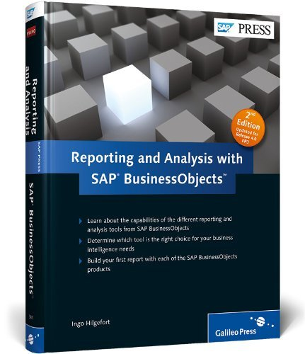 Reporting and Analytics with SAP BusinessObjects 2nd Edition by Ingo Hilgefort (20-Jan-2012) Hardcover par Ingo Hilgefort