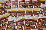 be4To® Wärmepflaster 8h, Wärmekissen Schmerzpflaster Wärmepads Rückenwärmer Thermopflaster 20 Stück im Set