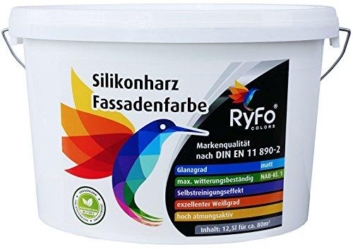 RyFo Colors Silikonharz Fassadenfarbe (Größe wählbar)