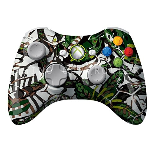 XBOX 360 Wireless Controller Glossy WTP-290-Brush Country Camo-personlig Painted- Uden Mods - Wireless Camo Xbox 360 Controller