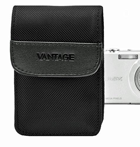 Vantage DCN 2 Digital Kamera Nylon Etui mit Speicherkartenfach (90 x 60 x 25 mm) schwarz