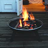 Hotspot - Urban 880 Fire Pit Brazier (With Cooking Grill & Spark Guard)