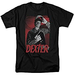 Dexter See Saw Mens Short Sleeve Shirt Black 5x