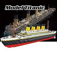 مجموعة مكعبات بناء تيتانيك اتوميك موديل 9913، 3800 قطعة هدية للأطفال من فيستنايت