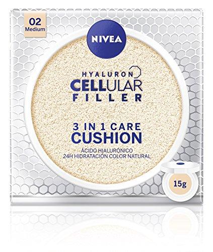 Nivea Cellular Cushion 3 en 1 Base Tono Medio - 15 g