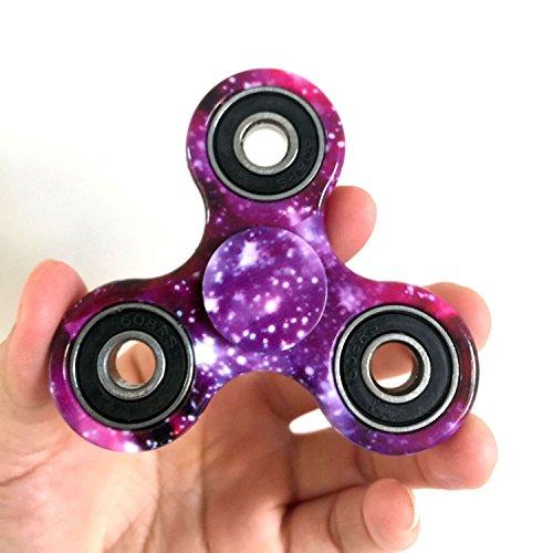 Preisvergleich Produktbild Fidget Toys Hand Tri Spinner Finger Spielzeug für Kinder und Erwachsene Spielzeug Geschenke, Bunt Motiv (Stil-14)