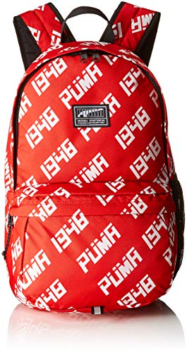 PUMA Academy Backpack Rucksack Ribbon Red All Over Print, OSFA Preisvergleich