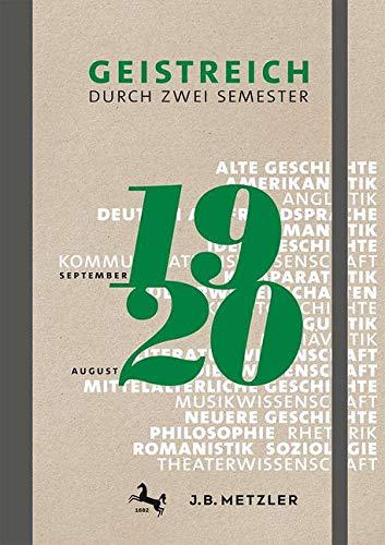 Geistreich durch zwei Semester: Semesterkalender 2019/20