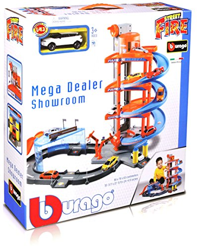Burago 30031 Rampa a spirale Garage Mega Dealer
