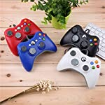 Features: precision wired controller for microsoft for xbox for 360 game system. The same size as original for xbox for 360 controller. A perfect replacement or an extra controller for you. With improved ergonomic design. Enablesfort and endless game...