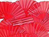 Générique Abanico español Tradicional español, Flamenco, Color Rojo