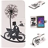 Nutbro Note 5 Case,Galaxy Note 5 Case,PU Leather Wallet Stand Protective Cover Case For Samsung Galaxy Note 5 N9200
