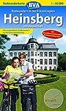Radwanderkarte BVA Radwandern in der Freizeitregion Heinsberg 1:50.000: mit Begleitheft (Radwanderkarte 1:50.000) -