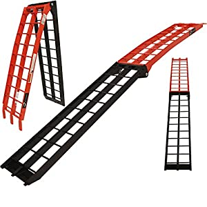 5222 - Black Pro Range B5222 Runner Aluminium Motorcycle Folding Ramp