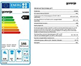 Gorenje WA6840 Waschmaschine FL / A+++ / 146 kWh/Jahr / 1400 UpM / 6 kg / 9.146 L/Jahr / Weiß / Startzeitvorwahl (24 h) / LED Display - 3