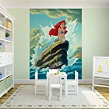 Tapetokids Fototapete - Disney Arielle Meerjungfrau - Vlies 254 x 184 cm (Breite x Höhe) - Wandbild Disney Arielle, die Meerjungfrau