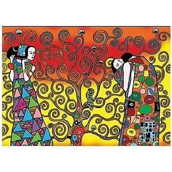 Colorvelvet Klimt L Albero Della Vita Disegno 47 X 35