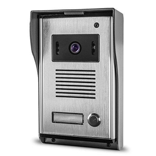 Außenstation Türklingel mit Kamera für Video Gegensprechanlage 4-Draht TSA6 Türsprechanlage