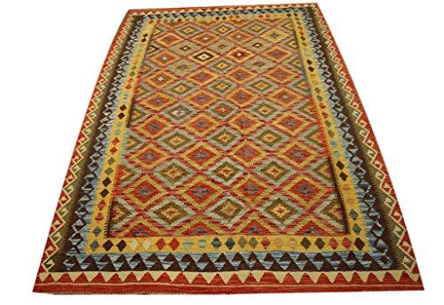 Tela-teppich tappeto nomaden kilim afghan kilim old style 165x 245cm 100% cotone tessuto a mano