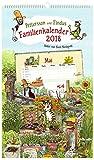 Pettersson & Findus Familienkalender 2018 -