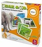 TING Quak & Co. - Das tierische Geräusche-Memo: 48 Karten, inkl. Navigationsscheibe und Spielregeln