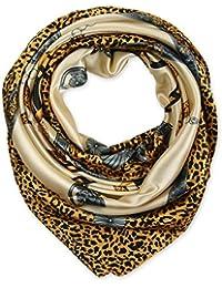 corciova élégant femme Carré Large Cheveux Sensation Satin en soie écharpe  foulard ... 3a0774ecb45