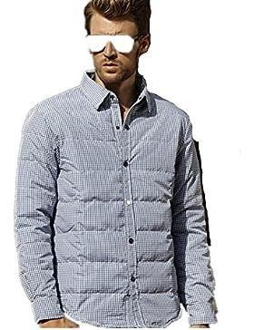 MHGAO Nuevo para la camisa de otoño / invierno de los hombres de Down Jacket , black , 2xl