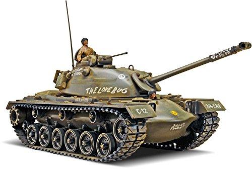 Revell-Monogram Maquette de Char M-48 A-2 Patton Tank échelle 1/35, 85-7853, Multicolor