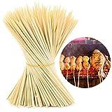 #4: HOKIPO Bamboo Skewer Stick Set, 12Inch (90-100 Sticks)