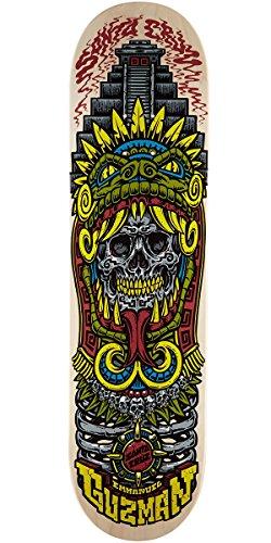 Monopatín skate skateboard SANTA CRUZ Model: GUZMAN AZTEC PRO 31,9 X 8,2