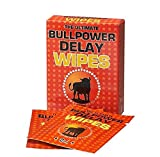 Bull Power Delay Wipes 6 Tücher Potenzmittel zur Orgasmus Verzögerung