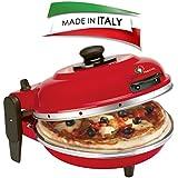 SPICE DIAVOLA - Minihorno eléctrico para pizza 400grados, Made in Italy 100%