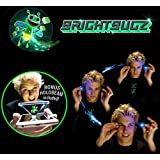 Hojo Bright Bugz Magic Light Burst Honeybee Magic Lantern New Toy Magic Finger Prop Lamp 3D Hologram Projection Toy Party Performance Magic Light (Color May Vary)