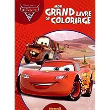 Cars 2 - Mon grand livre de coloriage