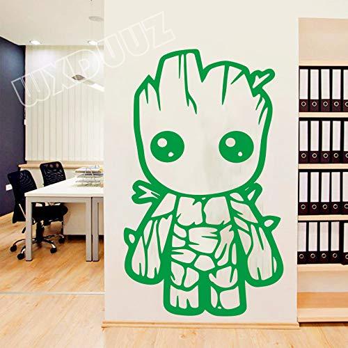 dgame Superhero Aufkleber Little Tree Man Art Decor Wohnkultur Abnehmbare Vinyl Kinderzimmer Kinderzimmer Wand 98 X 58 cm ()