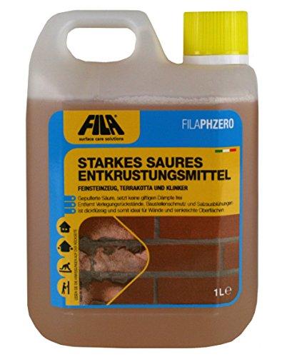 FILA PH Zero Disincrostante acido concentrato per cotto, gres porcellanato, clinker