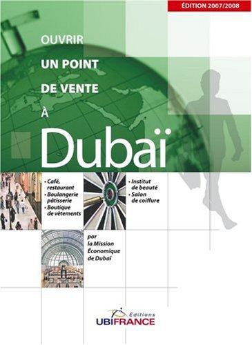 Ouvrir un point de vente à Dubaï