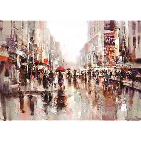 City Rain by Heighton 2, Brent-Stampa su