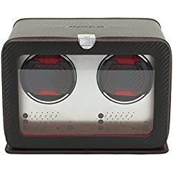 friedrich|23 Carbon Watch Winder Watchwinder Double Fine Synthetic 29461 2