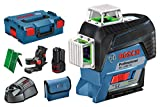 Bosch Professional 0601063T00 Laser lignes GLL 3-80 CG Bleu