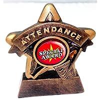 Asistencia a la 9,53cm Mini estrella premio trofeo con grabado gratis