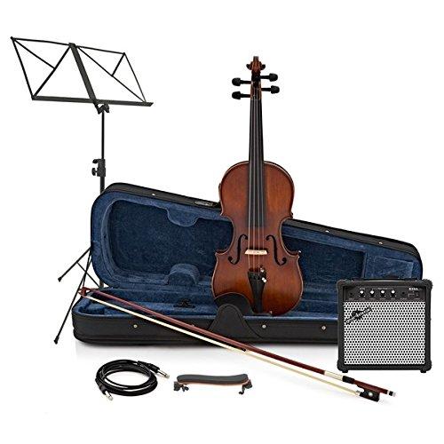 Violino elettrico 4/4 + kit amplificatore Gear4Music
