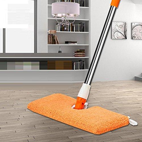 GAOJIAN Ultra-Thin Double-Sided Flat Mop Nachttisch Sofa Bottom Dead Ends Clean Up Holzboden Reinigungstools 360 Grad Rotation Mops