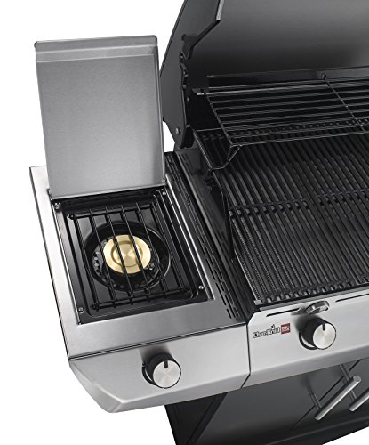 Char-Broil Performance Series T36G5 B - 3 Burner Gas Barbecue Grill with TRU-Infrared technology and Side-Burner, Black Finish.