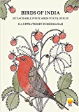 Birds of India: Detachable Postcards to Colour in