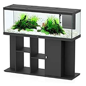 Aquatlantis Modern LED 150 x 45 Aquarium Set – Fully Equipped Unit – Comes With Base Unit, Integrated Filter System…
