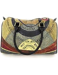 53ced65d68 Gattinoni donna borsa a mano in PVC con stampa Planetario