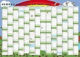 GSV Wandkalender - Schuljahresplan 2018/19 (DIN A2 Poster)