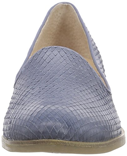 Caprice 24202 Damen Slipper Blau (BLUE SNAKE 802)