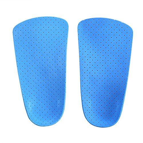 Orthopädische Schuheinlagen, Half Length Arch Support und Heel Support Orthopädische Einlagen für Männer und Frauen Fußkorrektur(M) -